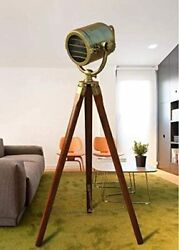 Royal Nautical Antique Search Light Office Home Decor For Living Rooms Standing