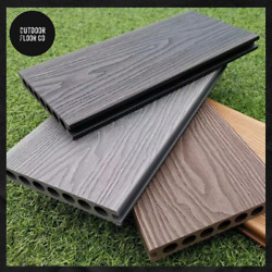 Per Square Metre Wood Effect Composite Decking- Free Fixings