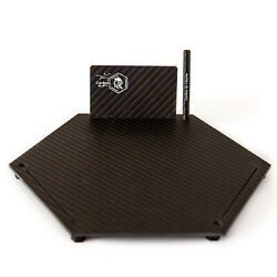 Xl Carbon Fiber Cutting Plate Form Carbon By Charlie Heated + Card And Straw Usa