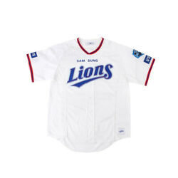 Samsung Lions Kbo League Authentic White Cool Baseball Jersey 39 Ben Lively