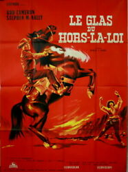 Rod Cameron Stephen Mcnally Requiem For A Gunfighter 1964 French Poster 47x63