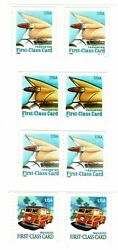 Scott 2908 2909 2910 3522 - Presorted 1st Class Card Coil Pairs - Mnh
