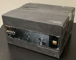 Sony Hap-s1 High Resolution Hdd Audio Player System - Brand New - Black