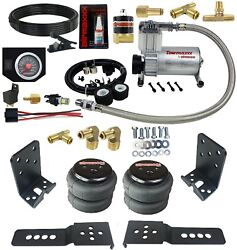 Air Over Leaf Under Frame Tow Assist Kit W/ In Cab Air Management Control