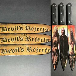 The Devil's Rejects Rob Zombie Knife Set