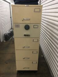 Mosler Heavy Duty Gsa 5-drawer Safe /digital Combo 9102 Local Pick Up Only