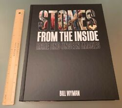 Rolling Stones Bill Wyman Hand Signed From The Inside Hardcover Oversized Book