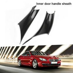 2pcs Inner Door Handle Inside Cover Protect Case For Bmw 3 Series F30 F35