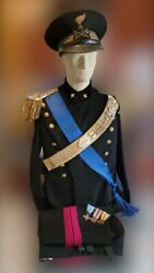 Wwii Italian Royal Army Engineer Officers Dress Uniform Complete Set