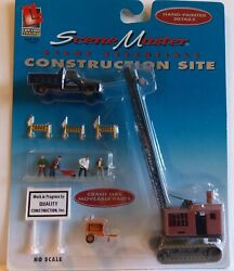 Life-like Trains Scene Master Construction Site Ho Scale Scenery No. 1322 New