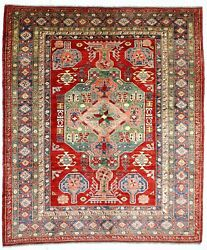 8x10 Vintage Anatolian Distressed Turkish Caucasian Hand Knotted Tribal Rug