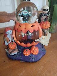 1993 Disney A Nightmare Before Christmas Music Globe Decoration Tested See...