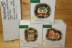 Department 56 98745 Christmas Carol Cottages-fezziwig's+scrooge And Marley+bob Cr