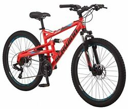 Schwinn Protocol 1.0 Mens And Womesn Mountain Bike 26-inch Wheels 24-speed Dri