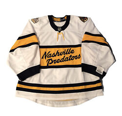Nashville Predators Winter Classic Game Issued Jersey Made In Canada