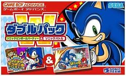 Gameboy Advance Sonic Pinball Party And Sonic Battle No Box Only Cartridge Japan