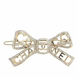 Bow-tiful Hair Clip Metal With Crystal Xs