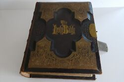 Antique Bible 1876 Dictionary/cities Of The Bible - 1300 Illustrations