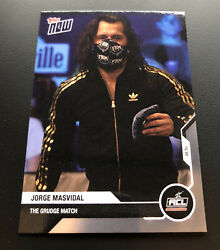 In Hand 2020 Topps Now Acl Jorge Masvidal Ufc Card 1 The Cornhole Grudge Match