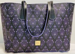 Nwtdooney And Bourkedisney Parks2020haunted Mansion Wallpaper Tote21101g S130