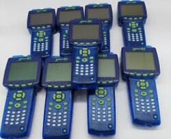 Lot Of 9 Pasco Xplorer Glx Ps-2002 Dataloggers With Charging Station Glx-20