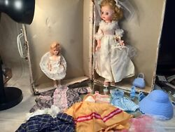 1950s Sears Happi Time 14andrdquo Doll - Clothes Accessories And Box