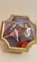 The Glorious Mysteries Rosary Trinket Box The Vatican Museum The Franklin Mint