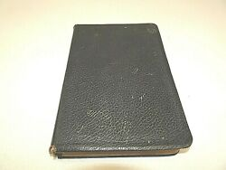 Scofield Reference Bible Kjv Book 1967 Genuine Cowhide Black Leather Maps