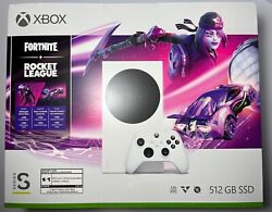 Microsoft Xbox Series S 512gb Video Game Console - White Ships Today Or Next Day