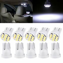 1000x T10 8smd Led Bulb White Dome Map Interior Light Instrument W5w 194 825 168