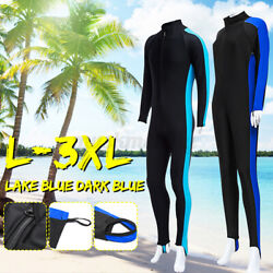 Lightweight Full Body Wetsuit Diving Snorkeling Surfing Scuba Suit Long Sleeves