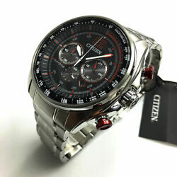 Menand039s Citizen Eco-drive Solar Powered Chronograph Watch Ca4190-54e