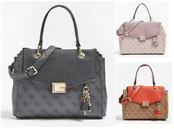 Valy Tote Satchel Handbags 4G Pattern Bags With a Crossbody Strap NWT SG787305 $51.99