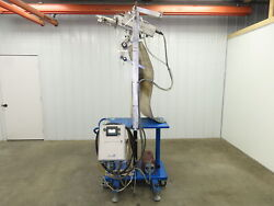 Barstrom Lc 2000 In-line Labeler On A Portable Cart 70000 Papers/hour.