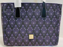 Nwtdooney And Bourkedisney Parks2020haunted Mansion Wallpaper Tote21101j S130