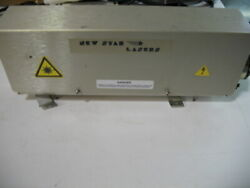 Pump Chamber/head For New Star Ns130 Erbium Laser Includes Rod And Lamp Complete