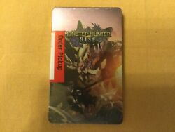 Monster Hunter Rise Steelbook New Sealed Nintendo Switch Case No Game