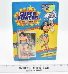 Wonder Woman New Mosc Super Powers 1985 Kenner Action Figure Vintage