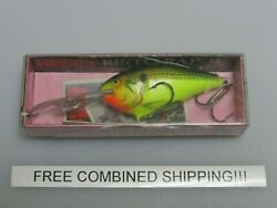 Rare Rapala Risto Rap 7 Crankbait New In Opened Package Rr-7