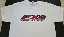 Brand New Ford Fx4 Off Road T-shirt F150 F250 F350 4x4 Truck Suv Bronco Lifted