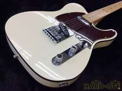 Fender Usa American Deluxe N3 Telecaster White With Hard Case From Japan F/s