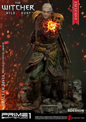 The Witcher Geralt Of Rivia Skellige Undvik Armor Statue First 1 Sideshow Excl
