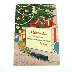 1954 Collection Of Worlds Best Christmas Stories, Songs, And Poems Cities Service