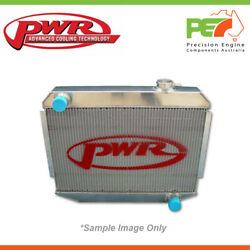 Pwr 42mm Radiator With Power Steering Cooler For Bmw E90 335i 2007 Twin Turbo
