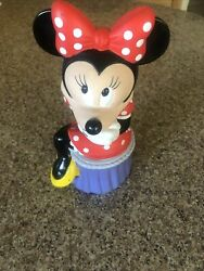 Miney Mouse Vintage Disney Coin Bank 1995 Collectible, New Not Sold In Stores