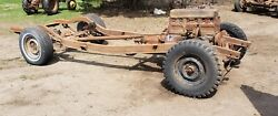 1940 Chevy Car Convertible Coupe X Frame Chassis 40 Sedan Rolling Project