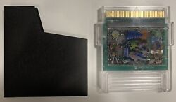 1991 Nes Nintendo Action 52 Green Circuit Board Authentic Tested Working Rare