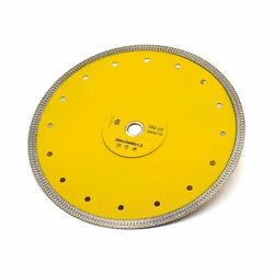 10 Inch Supper Thin Wet Diamond Porcelain Saw Blade Tile Blade For Dry Or Wet...