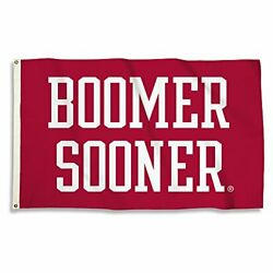 Bsi Ncaa College Oklahoma Sooners 3 X 5 Foot Flag With Grommets