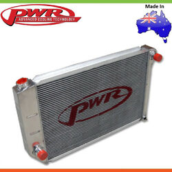 New Pwr 55mm Radiator For Ford Falcon Xa, Xb, Xc 351 Cleveland With Ac